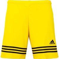 Adidas Entrada 14 Short Kinderen - Geel / Zwart