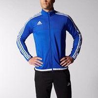 Adidas Tiro 15 Trainingsvest - Royal / Wit / Zwart