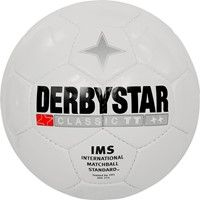 Derbystar Classic (mt 3-4) Trainingsbal - Wit / Zwart