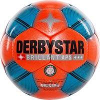 Derbystar Brillant Snow Wedstrijdbal - Oranje / Blauw