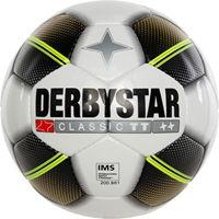 Derbystar Classic Tt (8 X 1 Gouden Vlakken) Trainingsbal - Wit / Goud