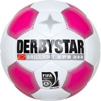 Derbystar Brillant Ladies Wedstrijdbal Dames - Wit / Roze