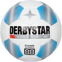 Derbystar Solaris Tt Light Trainingsbal Kinderen - Wit / Lichtblauw