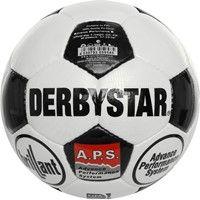 Derbystar Brillant Retro Wedstrijdbal - Wit / Zwart