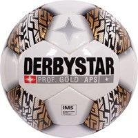 Derbystar Prof Gold Wedstrijdbal - Wit / Goud