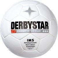 Derbystar Champions Cup Trainingsbal - Wit / Zwart
