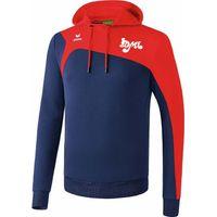 Erima Club 1900 2.0 Sweatshirt Met Capuchon - New Navy / Rood