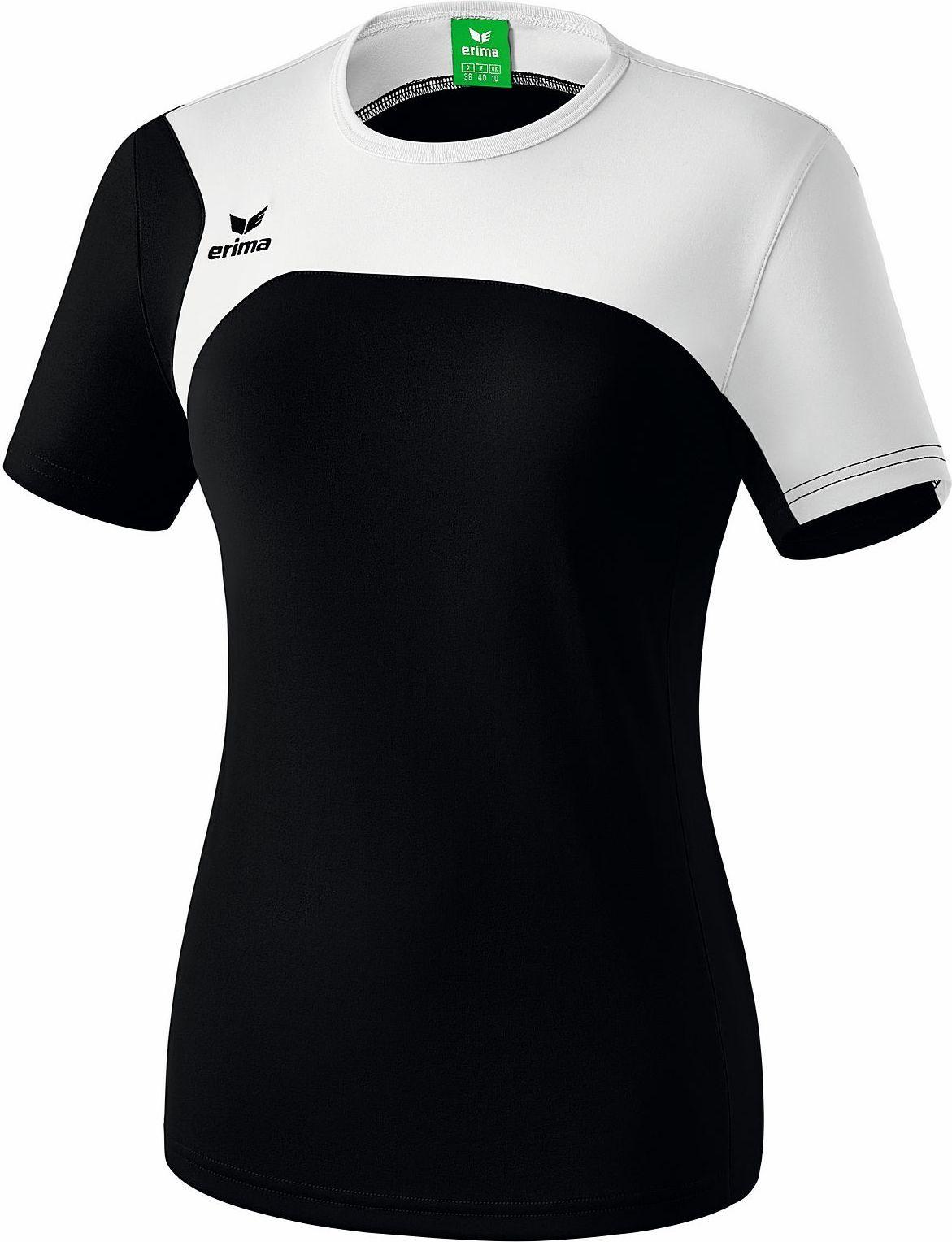 75c6f0d9ad5 Erima Club 1900 2.0 T-Shirt Dames - Zwart / Wit