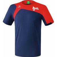 Erima Club 1900 2.0 T-Shirt - New Navy / Rood