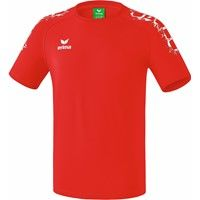 Erima Graffic 5-C Basic T-shirt - Rood / Wit