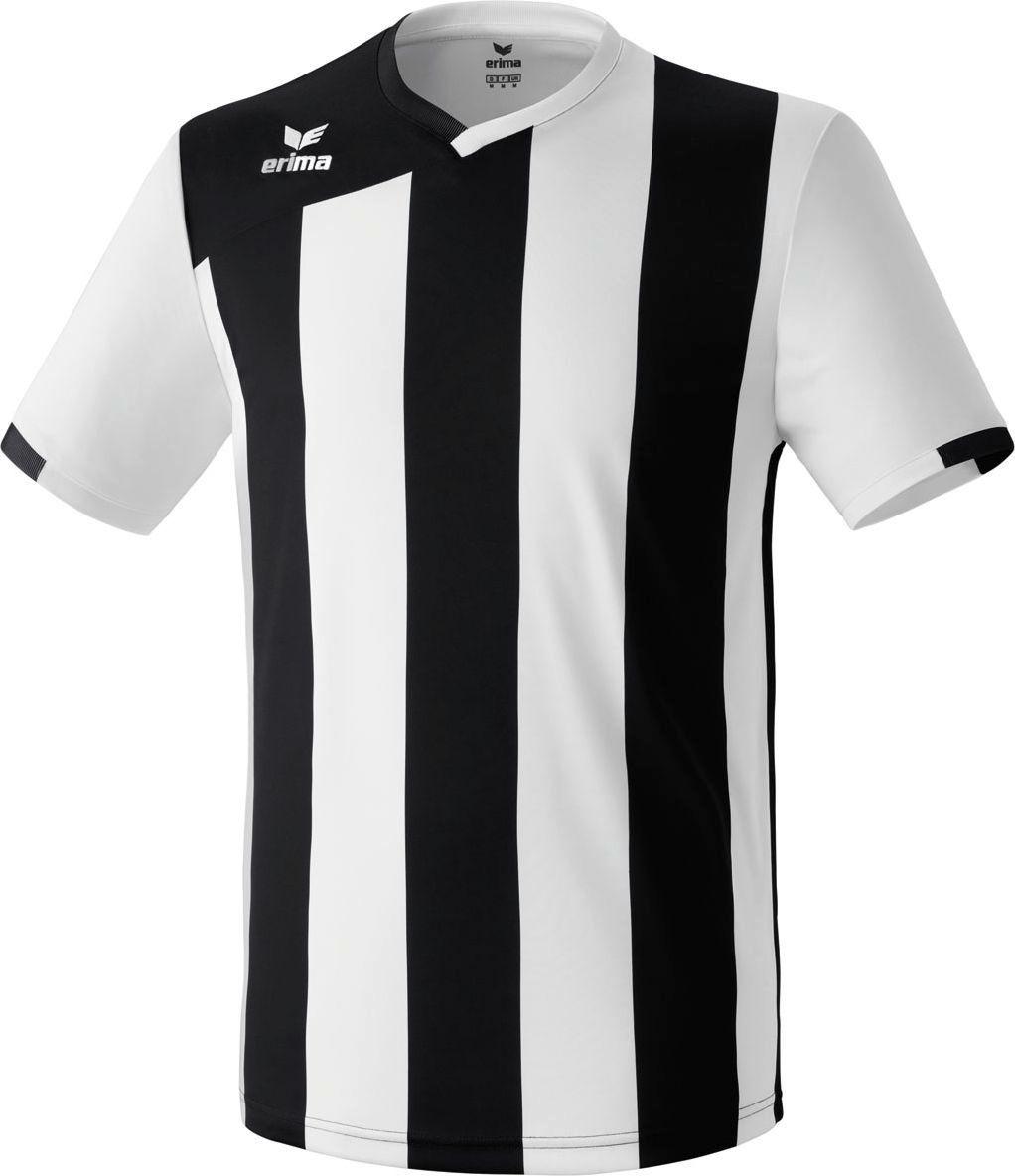 8b636eb5fbeaa2 Erima Siena 2.0 Shirt Korte Mouw - Wit / Zwart