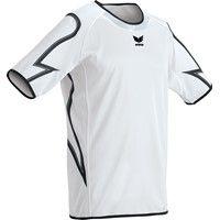 Erima Callao Shirt Korte Mouw - Wit / Zwart
