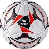Erima Senzor Match Wedstrijdbal - Wit / Zwart / Rood