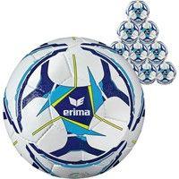 Erima Senzor Allround Training (maat 5) 50x Ballenpakket - Wit / Curacao / Marine
