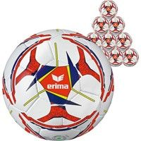 Erima Senzor Allround Training (maat 4) 50x Ballenpakket - Wit / Marine / Oranje