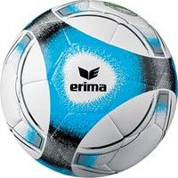 Erima Hybrid Training (3) Trainingsbal - Wit / Blauw / Zwart / Grijs