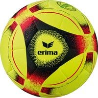 Erima Hybrid Indoor (4) Voetbal - Geel / Rood / Zwart