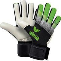 Erima Flexinator Knit Keepershandschoenen - Zwart / Grijs / Green