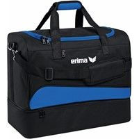 Erima Club 1900 2.0 (M) Sporttas Met Bodemvak - New Royal / Zwart
