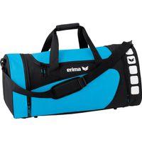 Erima Club 5 (L) Sporttas Met Zijvakken - Curacao / Zwart