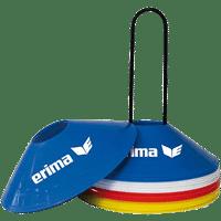 Erima 24X Set Kegels - Rood / Blauw / Geel / Wit