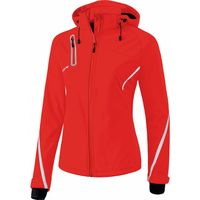Erima Function Softshell Jas Dames - Rood / Wit