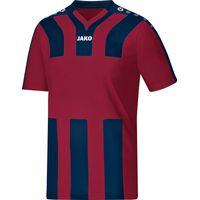 Jako Santos Shirt Korte Mouw Kinderen - Bordeaux / Marine