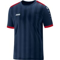 Jako Porto 2.0 Shirt Korte Mouw Kinderen - Navy / Rood