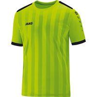 Jako Porto 2.0 Shirt Korte Mouw Kinderen - Fluo Groen / Zwart
