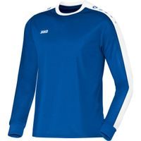 Jako Striker Voetbalshirt Lange Mouw - Royal / Wit