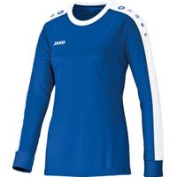Jako Striker Voetbalshirt Lange Mouw Dames - Royal / Wit