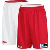 Jako Change 2.0 Reversible Short Kinderen - Rood / Wit