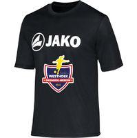 Jako Promo Functioneel T-Shirt Kinderen - Zwart