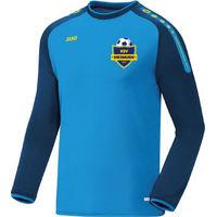 Jako Champ Sweater - Jako Blauw / Marine / Fluogeel