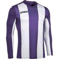 Joma Pisa Voetbalshirt Lange Mouw Kinderen - Paars / Wit