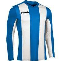 Joma Pisa Voetbalshirt Lange Mouw Kinderen - Royal / Wit