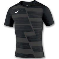 Joma Haka Rugbyshirt Kinderen - Antraciet / Zwart