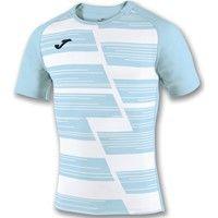 Joma Haka Rugbyshirt Kinderen - Wit / Hemelsblauw
