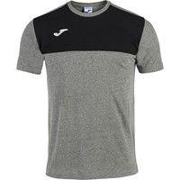 Joma Winner T-Shirt Kinderen - Grijs Gemeleerd / Zwart