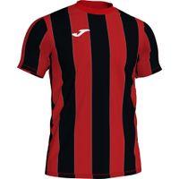 Joma Inter Shirt Korte Mouw Kinderen - Rood / Zwart