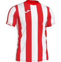 Joma Inter Shirt Korte Mouw Kinderen - Rood / Wit