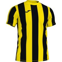 Joma Inter Shirt Korte Mouw Kinderen - Geel / Zwart