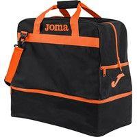 Joma Training III (Large) Sporttas Met Bodemvak - Zwart / Oranje