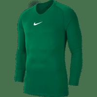 Nike Park First Layer Shirt Lange Mouw Kinderen - Groen