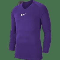 Nike Park First Layer Shirt Lange Mouw Kinderen - Paars