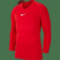 Nike Park First Layer Shirt Lange Mouw Kinderen - Rood