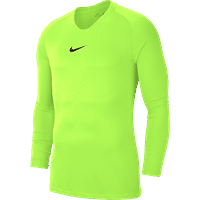 Nike Park First Layer Shirt Lange Mouw Kinderen - Fluogeel