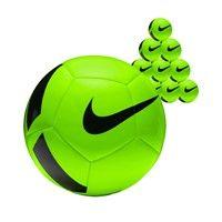 Nike Pitch Team 50x Ballenpakket - Groen / Zwart