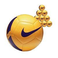 Nike Pitch Team 50x Ballenpakket - Geel / Paars