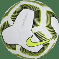 Nike Strike Pro Team (5) Trainingsbal - Wit / Fluogeel